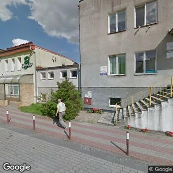 Widok z ulicy NZOZ Eskulap Anna Niechciał