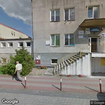 "Widok z ulicy NZOZ ""Ambulatorium"""
