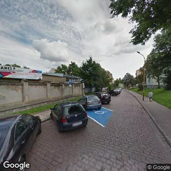 Widok z ulicy NZOZ Poradnia Ginekologiczno-Położnicza Janusz Pawluk