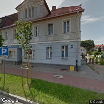 Widok z ulicy Prywatna Praktyka Stomatologiczna - Wioletta Kowalska, Grzegorz Kowalski