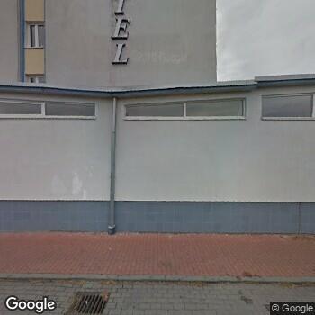 Widok z ulicy NZOZ Centrum Medyczne Ikar