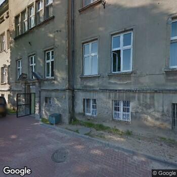 Widok z ulicy SPZOZ w Mogilnie