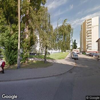 Widok z ulicy Praktyka Stomatologiczna Małgorzata Niewińska