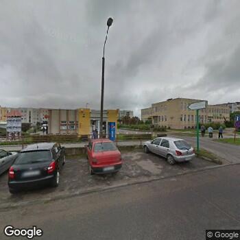 Widok z ulicy Zespół Opieki Zdrowotnej w Brodnicy