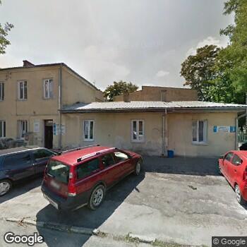 Widok z ulicy Arion Szpitale