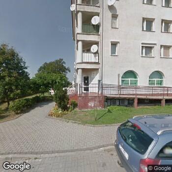 Widok z ulicy NZOZ Specjalistyczna Poradnia Stomat. Maria Czujko
