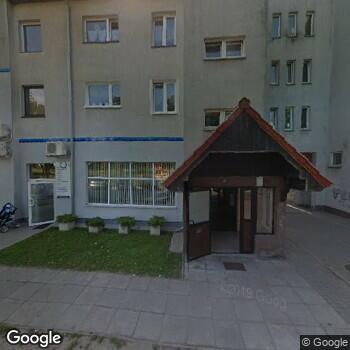 Widok z ulicy NZOZ Q-Dent Poradnia Stomatologiczna Anita Gałka-Kusyk