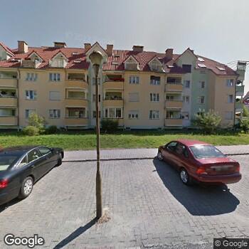 Widok z ulicy Specjalistyczna Praktyka Stomatologiczna Iwona Sozańska