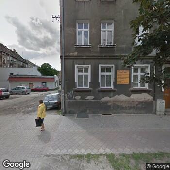 Widok z ulicy Gabinet Stomatologiczny Mateusz Podstawski