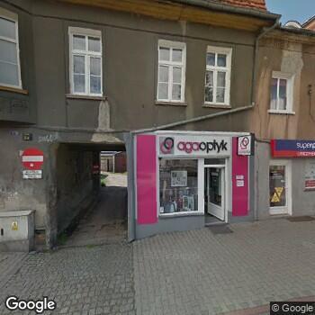 Widok z ulicy Indywidualna Praktyka Położnej Elżbieta Skarbek - Borowska