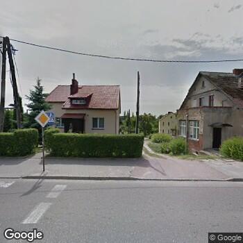 Widok z ulicy Gabinety Lekarskie Otolaryngologiczne Z. Kogut i E. Ciosmak-Stępień