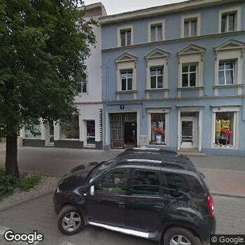 Widok z ulicy Dolnośląskie Centrum Chorób Serca Medinet NZOZ