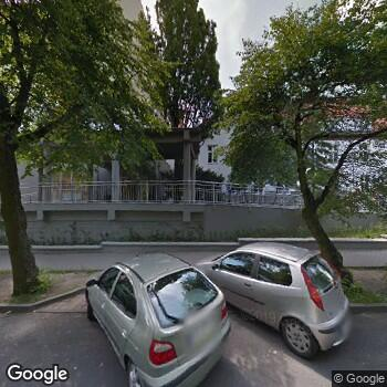 Widok z ulicy Lubuska Specjalistyczna Poradnia Chorób Wątroby