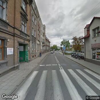 Widok z ulicy Ośrodek Terapii Grunwald Stanisław Bojkowski