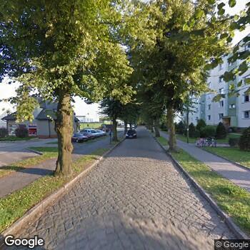 Widok z ulicy Gabinet Stomatologiczny Katarzyna Sergiew
