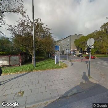 Widok z ulicy Wojewódzki Specjalistyczny Szpital im. M. Pirogowa w Łodzi