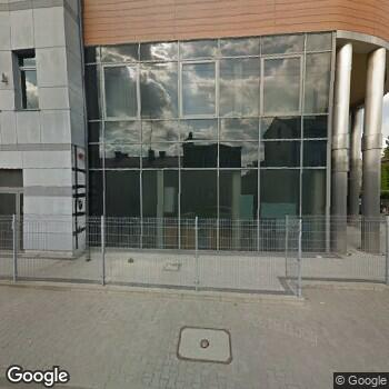 Widok z ulicy Centrum Medyczne Ogrodowa