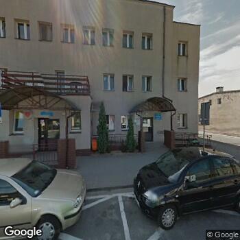 Widok z ulicy Powiatowe Centrum Medyczne NZOZ Szpital Powiatowy