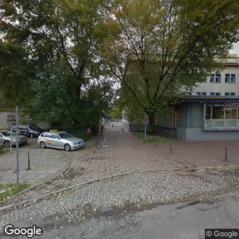 Zdjęcie z ulicy Wojewódzka Stacja Ratownictwa Medycznego w Łodzi
