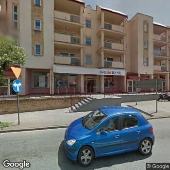 Widok z ulicy Gabinet Okulistyczny Ewa Burchacińska w Wieluniu