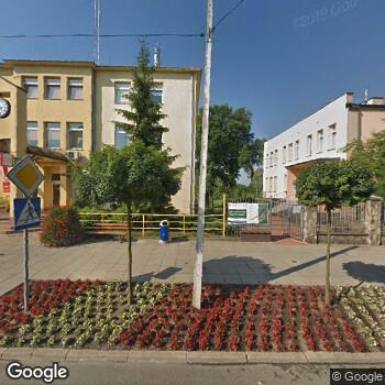 Widok z ulicy Gabinet Logopedyczny Logam Agnieszka Cichosz-Modzelewska Małgorzata Cichosz-Sadecka