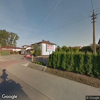 Widok z ulicy Gabinet Stomatologiczny Renata Cichańska w Łowiczu