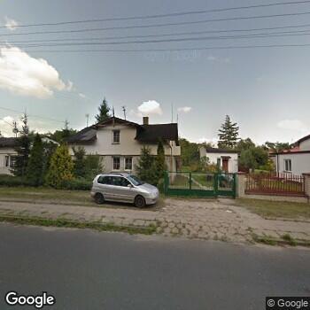 Widok z ulicy Gabinet Stomatologiczny Wiesława Grabowicz w Domaniewicach