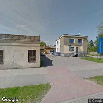 Widok z ulicy NZOZ Ars-Med Centrum Usług Pielęgniarsko-Lekarskich