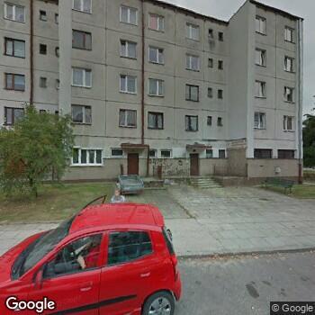 Widok z ulicy NZOZ Lekarz Rodzinny Ewa Karasiewicz