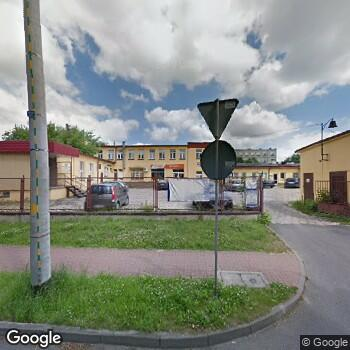 Widok z ulicy Przedsięiorstwo Podmiotu Leczniczego NZOZ Sante Anna Westrych