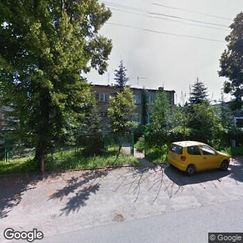 Widok z ulicy Indywidualna Praktyka Pielęgniarstwa Środowiskowego Zofia Wysocka w Ostrowach