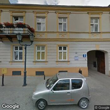 Widok z ulicy Centrum Stomatologii Duodent
