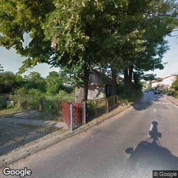 Widok z ulicy Samodzielny ZOZ Nowe Miasto Nad Pilicą