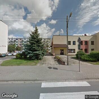 Widok z ulicy Zduńskowolski Szpital Powiatowy