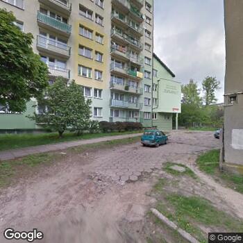 """Widok z ulicy NZOZ """"Ósemka"""""""