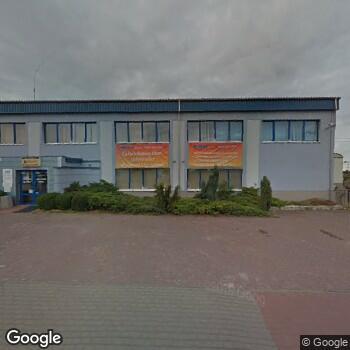 Widok z ulicy Stowarzyszenie Hospicjum w Rawie Mazowieckiej