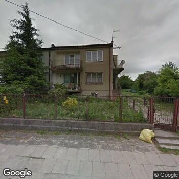 Widok z ulicy Szpital św. Ducha w Rawie Mazowieckiej