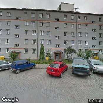 Widok z ulicy Krakowski Zespół Zdrowia Psychicznego Medinorm