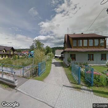 Widok z ulicy Sgoz w Białym Dunajcu