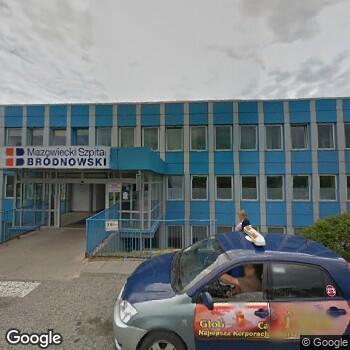 Zdjęcie z ulicy Mazowiecki Szpital Bródnowski w Warszawie