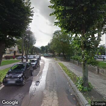 Widok z ulicy Specjalistyczny Szpital Wojewódzki w Ciechanowie