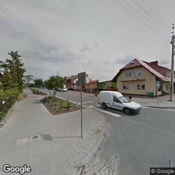Widok z ulicy Samorządowy Publiczny ZOZ w Białobrzegach