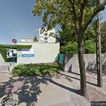 Widok z ulicy DaVita Clinic Grójec