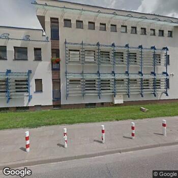 Widok z ulicy SPZOZ Warszawa-Białołęka