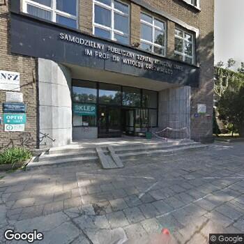 Zdjęcie z ulicy SPSK im. prof. Witolda Orłowskiego Centrum Medycznego Kształcenia Podyplomowego w Warszawie