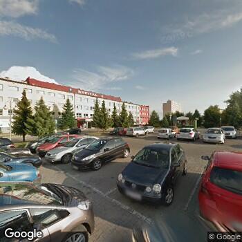 Widok z ulicy Wojewódzki Szpital im. św. Ojca Pio w Przemyślu