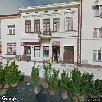 Widok z ulicy NZOZ Domowa Opieka Paliatywna Dar-Med