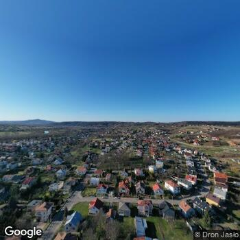 Widok z ulicy Szpital Specjalistyczny w Jaśle