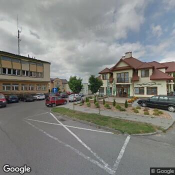 Widok z ulicy Centrum Medyczne Szajner Med
