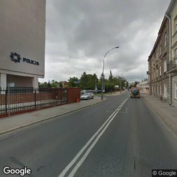 Widok z ulicy Gabinet Stomatologiczny Małgorzata Majewska